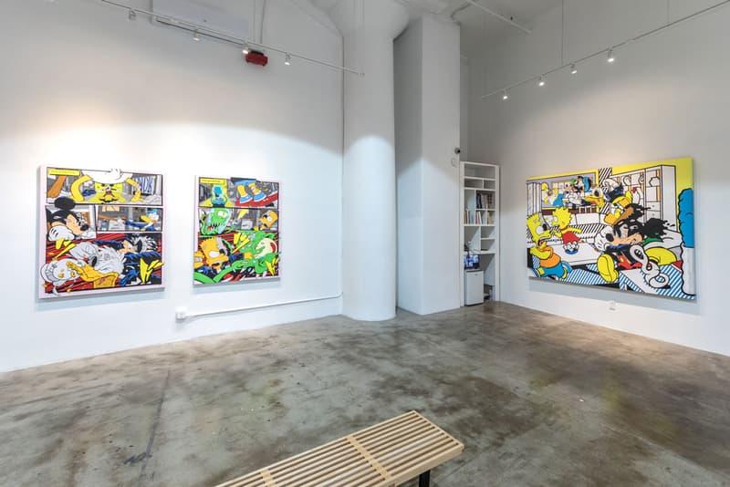 matt gondek control solo exhibition avenue des arts paintings sculptures artworks editions collectibles prints