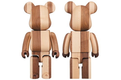 Medicom Toy and Karimoku Introduce 400% 'HALF & HALF' BE@RBRICK