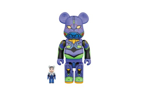 Medicom Toy Honors 'Neon Genesis Evangelion' With Latest BE@RBRICK