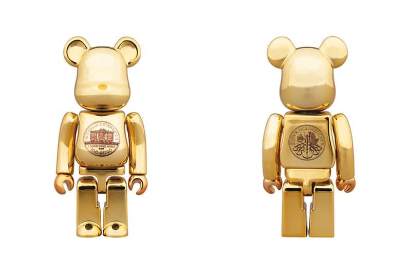 Medicom Toy Vienna Philharmonic Gold BEARBRICK figures toys manufacturer Wiener Philharmoniker Wiener Musikverein REPUBLIK ӦSTERREICH 1842 bullion coin sell orchestra