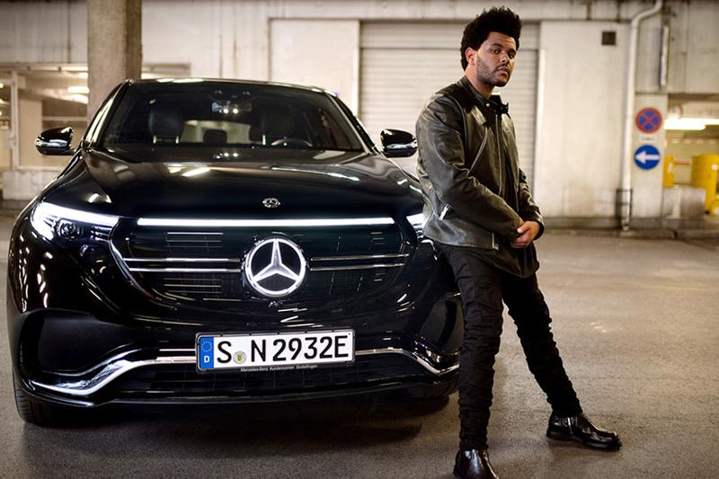 The Weeknd Mercedes-Benz EQC Campaign Announcement abel Toronto R&B singer Benz Electric vehicles music Blinding Lights EVs Advertising Media TV Ads