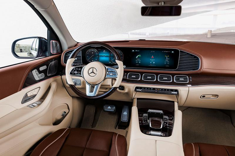 Mercedes-Maybach GLS 600 4MATIC First Look SUV Luxury Sports Utility Vehicle Closer Big Car Luxe German Automotive Twin Turbo 4-Liter V8 Engine 48-volt system EQ Boost