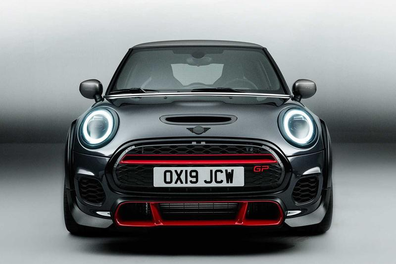 2020 mini john cooper works gp los angeles LA auto show reveal unveil road legal 302 horsepower Release Buy