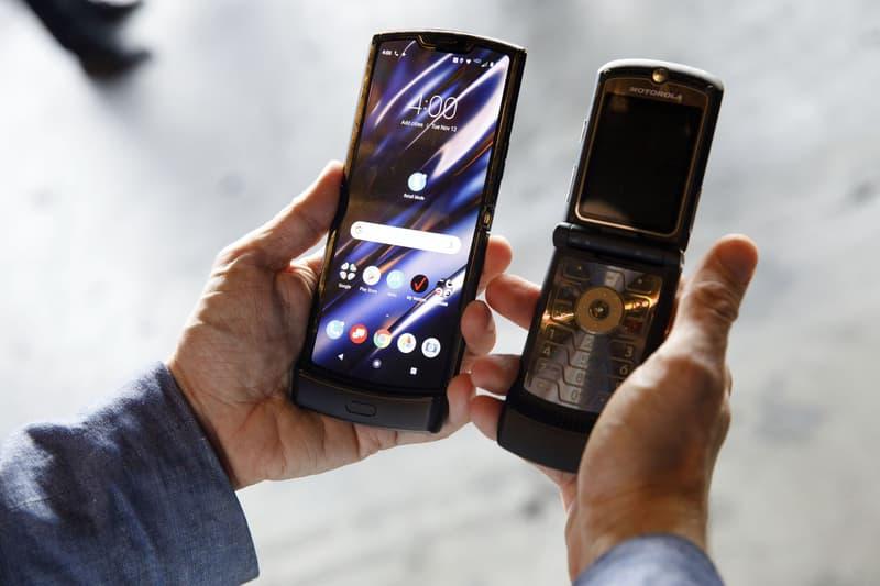 Motorola's New RAZR Flip Phone, First Look smartphones flip phones cellphones tech devices Verizon android