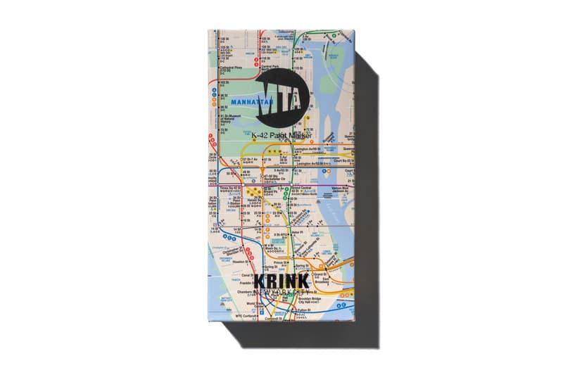 mta new york city transit krink paint marker set