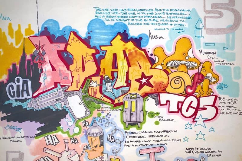 museum of graffiti wynwood miami niels shoe meulman og slick doze green phase two sonic lee quinones smith risk doc dime blade supreme new york