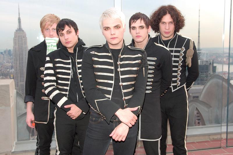 My Chemical Romance Reunion Concert Announcement music rock punk emo gerard way
