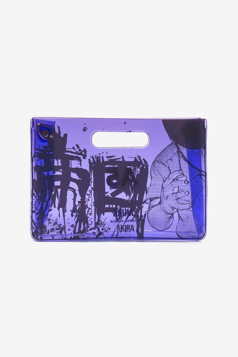 nana-nana AKIRA ART WALL PROJECT A5 Bag Release Tetsuo Purple Blue Green Yellow Orange Red Kosuke Kawamura Katsuhiro Otomo