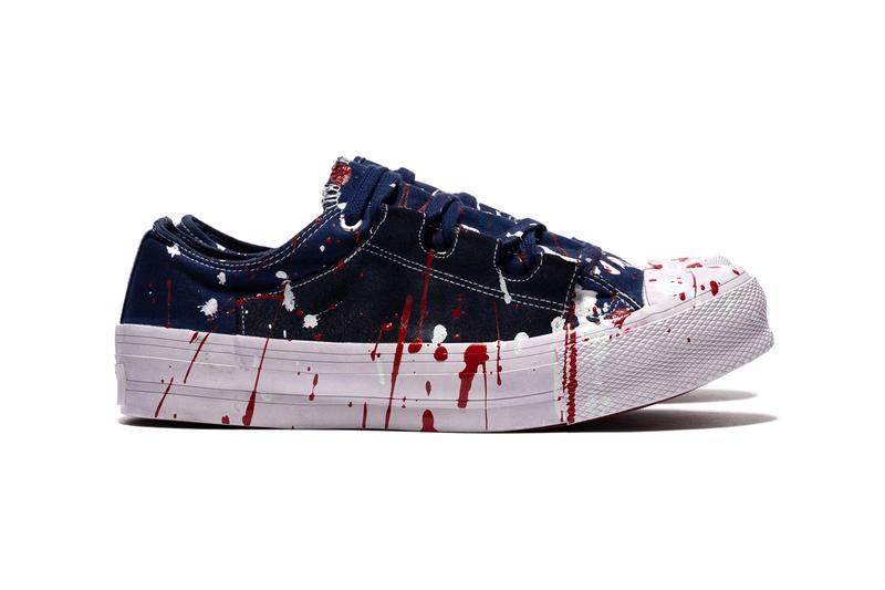 NEEDLES Asymmetric Ghillie Sneaker Over Dye Paint Where to buy Price 2019 Release