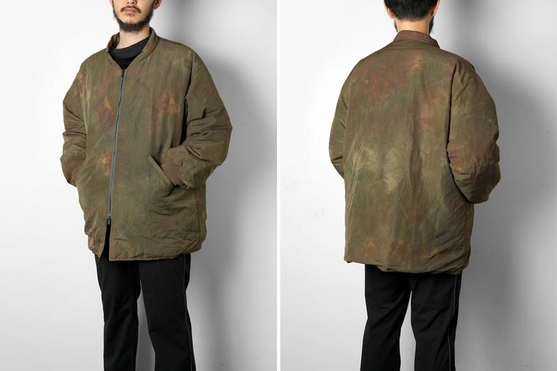 NEEDLES Billowy insulated Down Parkas Fall Winter 2019 collection japan nepenthes daiki suzuki keizo shimizu outerwear jackets taffeta over uneven dyed TUSSORE sur coat price drop details info jackets