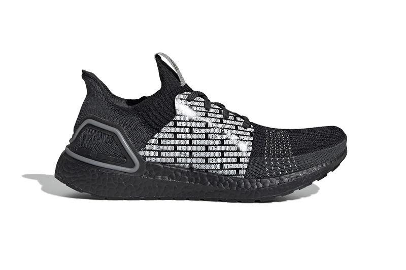 neighborhood adidas consortium ultraboost boost atr 19 Fu7313 fu7312 black white release date info photos price