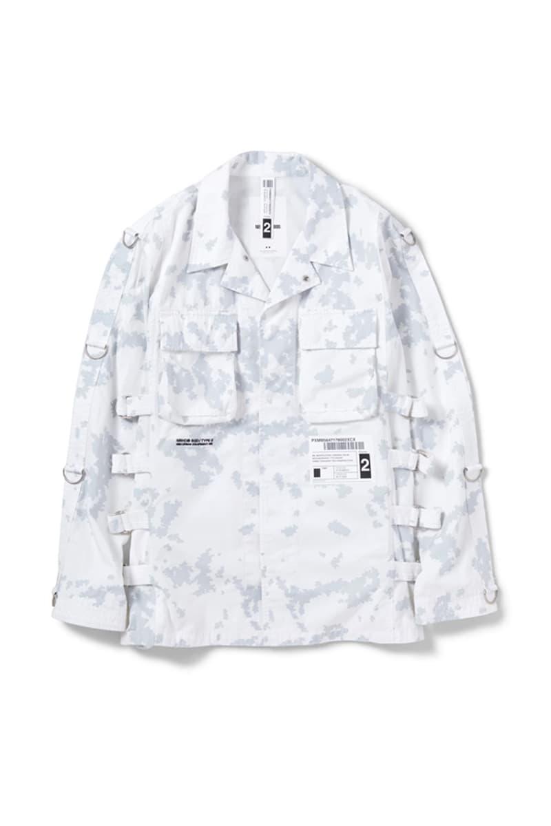 NEIGHBORHOOD MIL BDU SC MOD Bondage Shirt military utilitarian long sleeve detachable pouch compartment shinsuke takizawa japanese fashion functional outerwear fall winter 2019