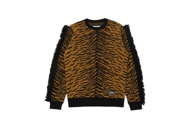 NEIGHBORHOOD Leopard BC Fur R Coat Leo RBELT Longsleeve Zebra WN KNIT Gold fall winter 2019 collection shinsuke takizawa japanaese streetwear patterns animal print knitwear jackets accessories
