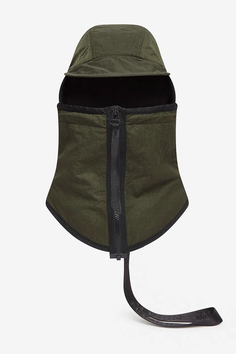 NemeN Olive Modular Cap Release  mask nylon caps accessories tech military style techwear modular style headwear hypebeast