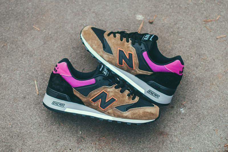 new balance 577 kpo made in england black thermal olive release date info photos price brown pink orange black white