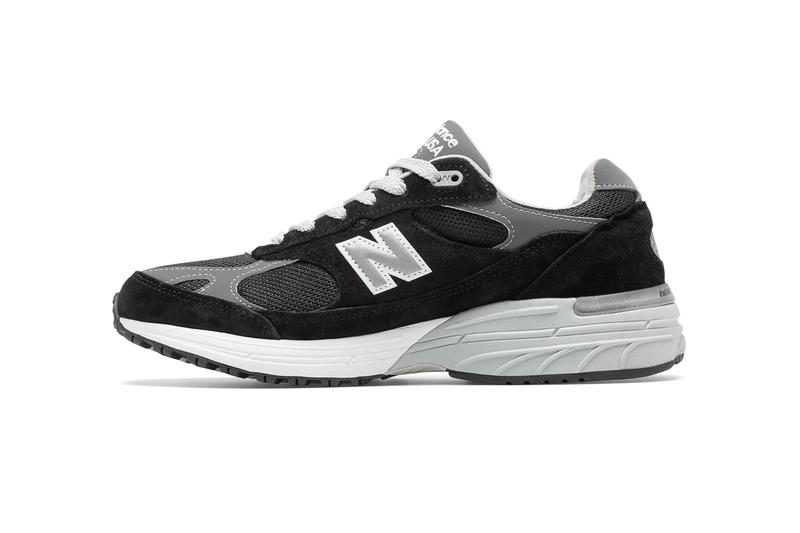 new balance 993 made in us usa black grey white release date info photos price