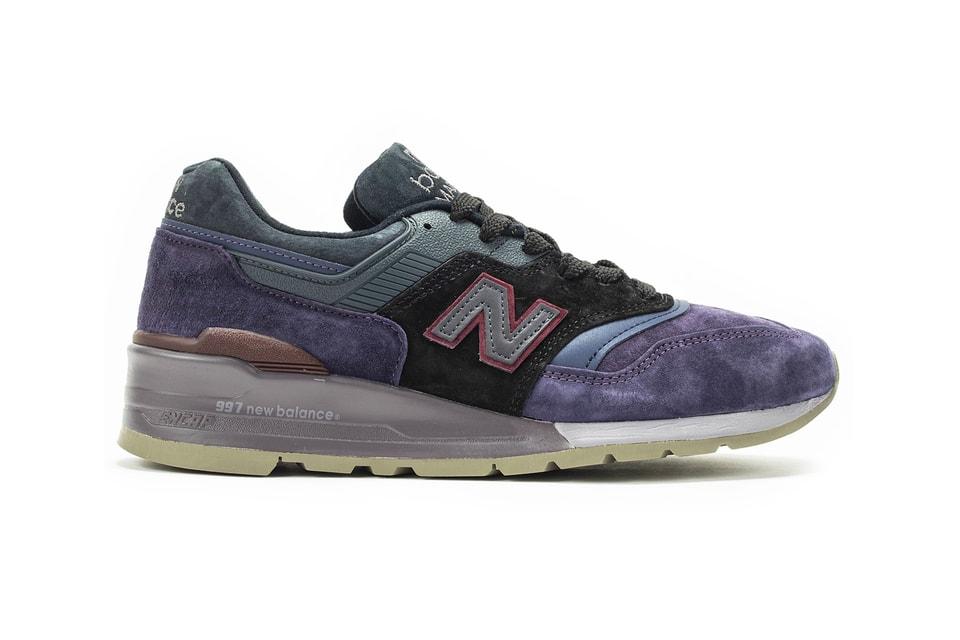 "New Balance Updates M997NAK in Lush ""Royal Purple/Black"" Tones"