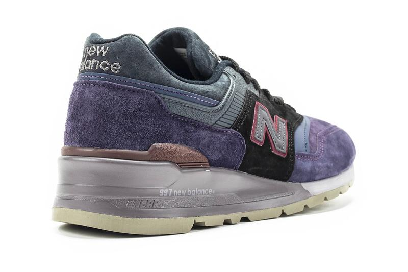 New Balance M997NAK Royal Purple Black sneakers shoes footwear silhouettes XLD trainers runners lifestyle kicks streetwear made in usa encap midsole EVA Fearlessly Independent Since 1906