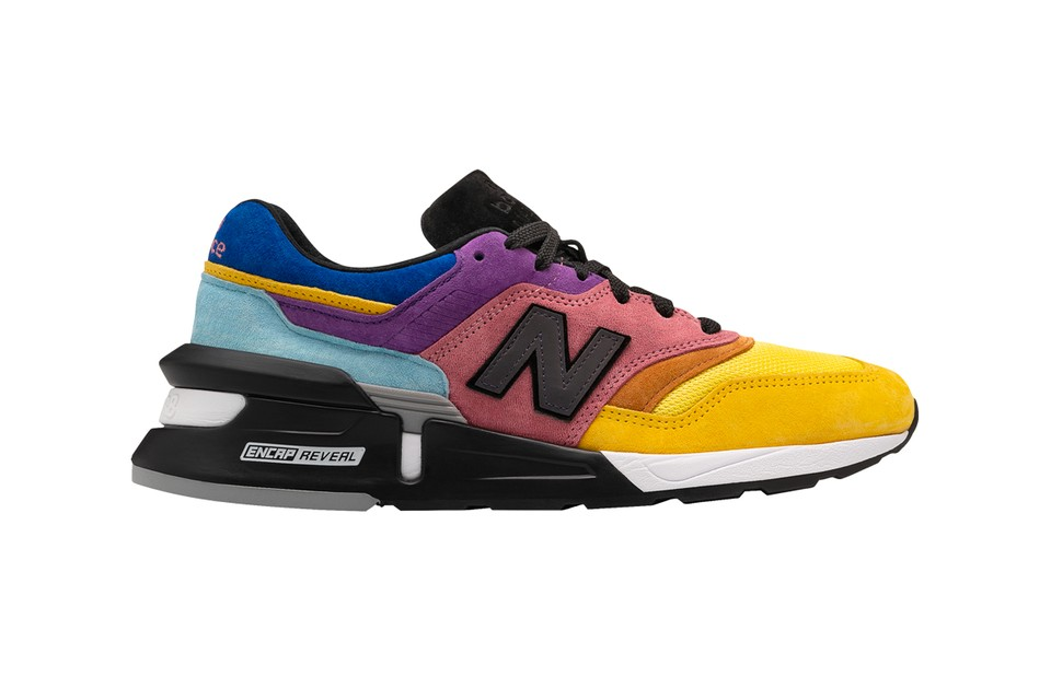 """New Balance Revamps Made in US 997S in Multi-Paneled """"Baited"""" Colorway"""