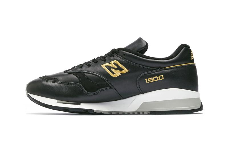 New Balance Made in UK 1500 Liverpool FC black and gold limited edition six times collection