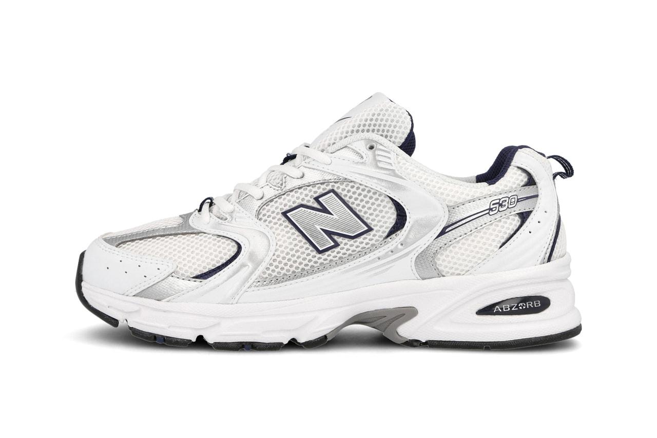 new balance mr530 white navy silver black volt grey release date info photos price
