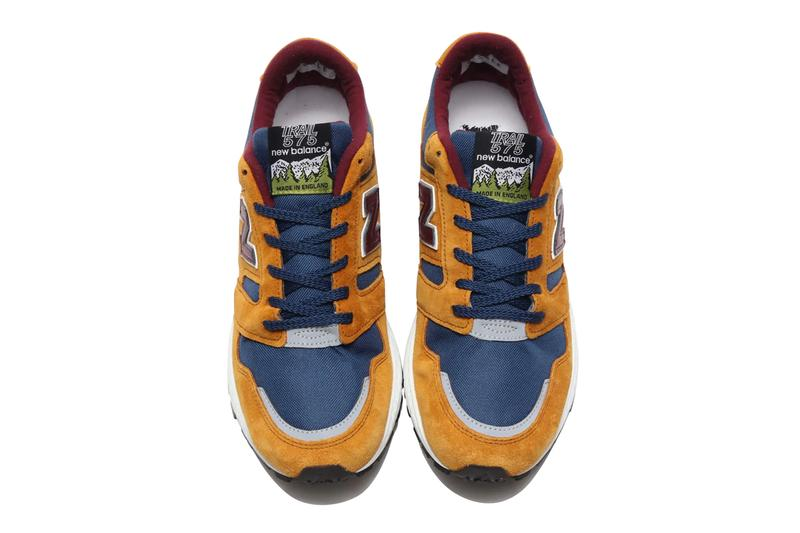 New Balance MTL575TB MTL575OP Tan Blue Blue Orange megagrip vibram sole outdoor made in england sneakers footwear shoes trainers runners outdoor 575 trail