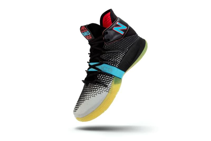 "New Balance OMN1S ""Baited"" Release Kawhi Leonard sneaker release basketball la clippers raptors"