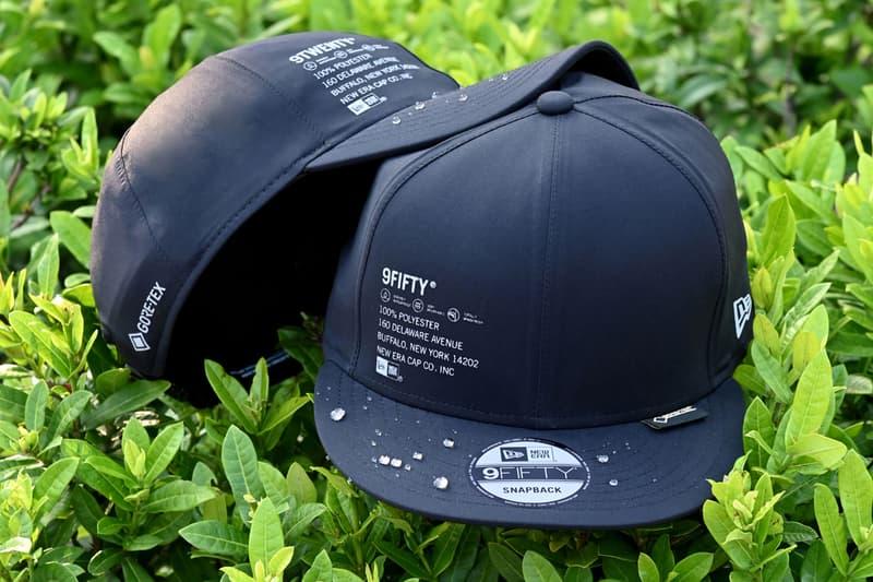 GORE-TEX x New Era Winter 2019 Hat Collection Camper Bucket 9FIFTY 9TWENTY Black