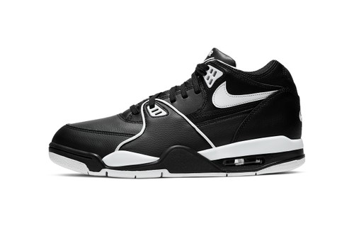 "Nike Brings Back the Air Flight 89 in OG ""Black/White"""