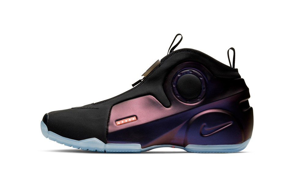 "Nike Air Flightposite 2 Returns in Bold ""Eggplant"""