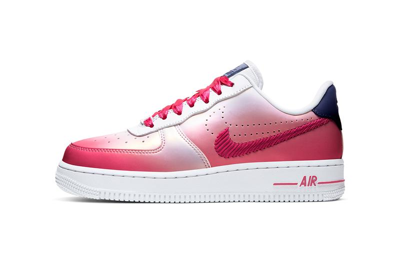 nike air force 1 low kay yow cancer fund pink white navy CT1092 100 release date info photos price