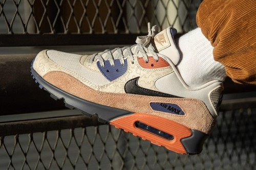 "Nike Plays With Tone and Texture on the Air Max 90 ""Desert Sand"""