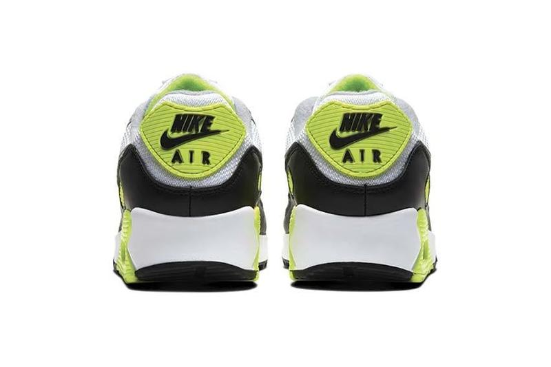nike air max 90 white particle grey volt black og CD0881 103 30th anniversary release date info photos price