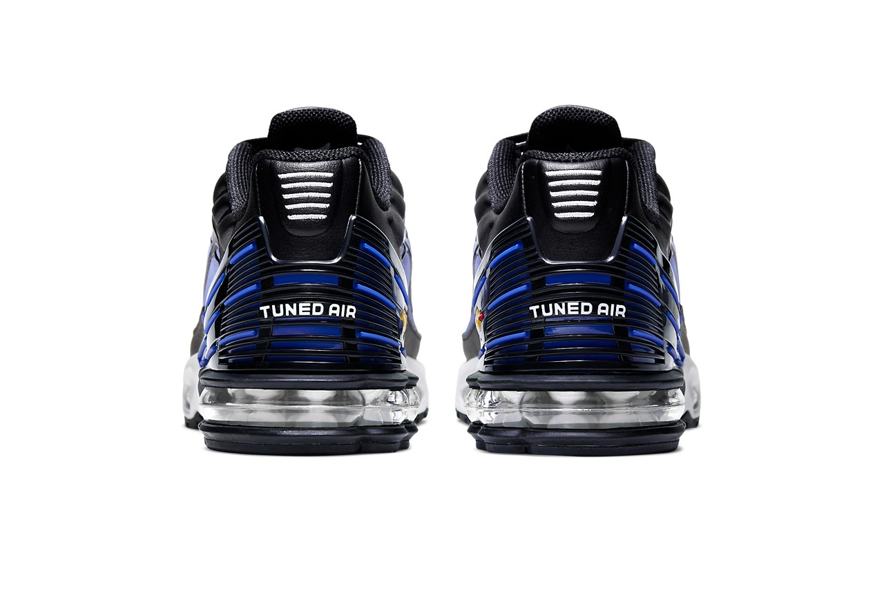 nike air max plus 3 tn3 hyper blue violet wolf grey release dates info photos prices CD6871 001 cj9864 003 002 colorway