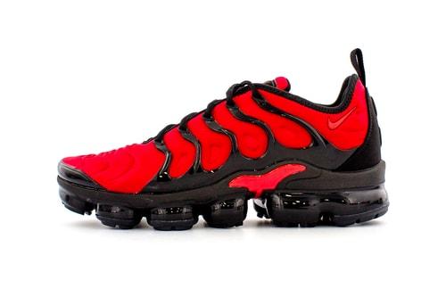 """Nike Drops Air VaporMax Plus in """"University Red"""""""