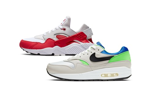 """Nike Fuses Classic Air Huarache and Air Max 1 for New """"87 x 91"""" DNA Series Pack"""