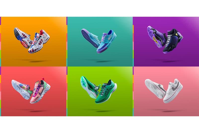 Nike Doernbecher Freestyle 2019 Collection Official Look SB Zoom Janoski React Element 55 air jordan xiv 14 Air Max Triax 96 Zoom Pegasus Turbo II