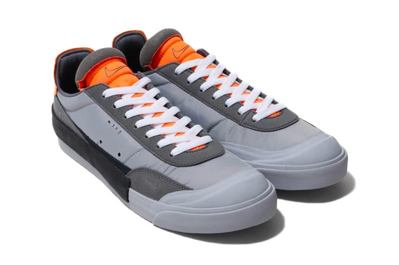 Nike Drop Type LX Wolf Grey Total Orange black dark sneakers shoes footwear trainers runners holiday 2019 n354 reconstructed Steve Prefontaine 1 mile self record