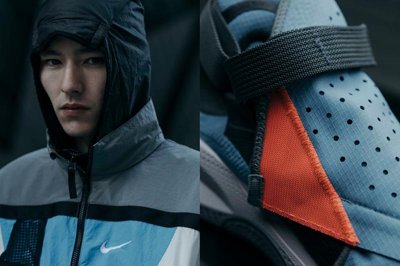 Nike ISPA Joyride Envelope First Look HAVEN Shop Editorial Technical Sneaker Release Information Drop Photoshoot Swoosh Exclusive Pop Up Canada Toronto Adaptable Weather Protective Ripstop
