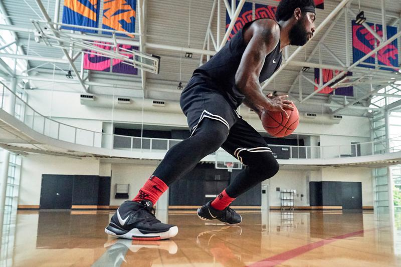 nike kyrie irving 6 jet black white red blue release date info photos price