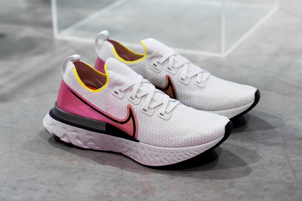 Nike React Infinity Run 最新跑鞋將為跑者減少運動傷害
