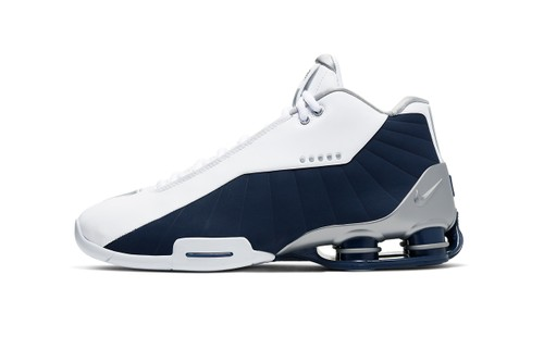 "Nike Shox BB4 Springs to Market in ""Midnight Navy"" Colorway"