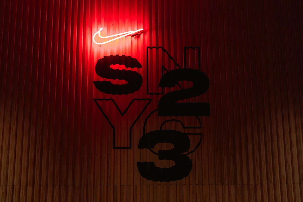 Inside Nike New S23NYC Studio seaport south street new york city nyc office hq headquarters ron faris sneakers culture sneakerhead digital webstore ecommerce