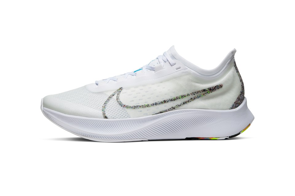 """Nike Zoom Fly 3 """"Blue Hero"""" Features Colorful Detailing"""