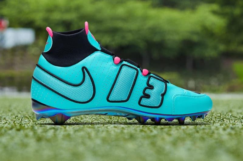 Odell Beckham Jr Week 12 Pregame Cleats Nike Vapor Untouchable Pro 3 OBJ Uptempo South Beach lebron james Release Info Date