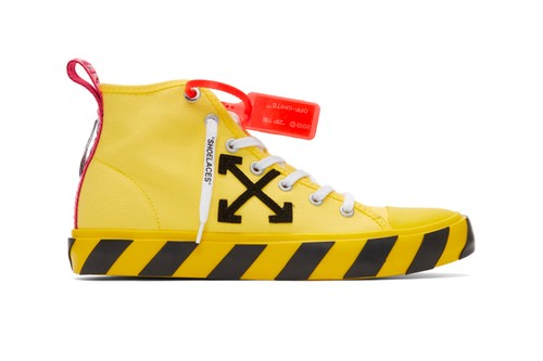 Off-White™ Releases Its Arrows Mid-Top Sneaker in Three Colors