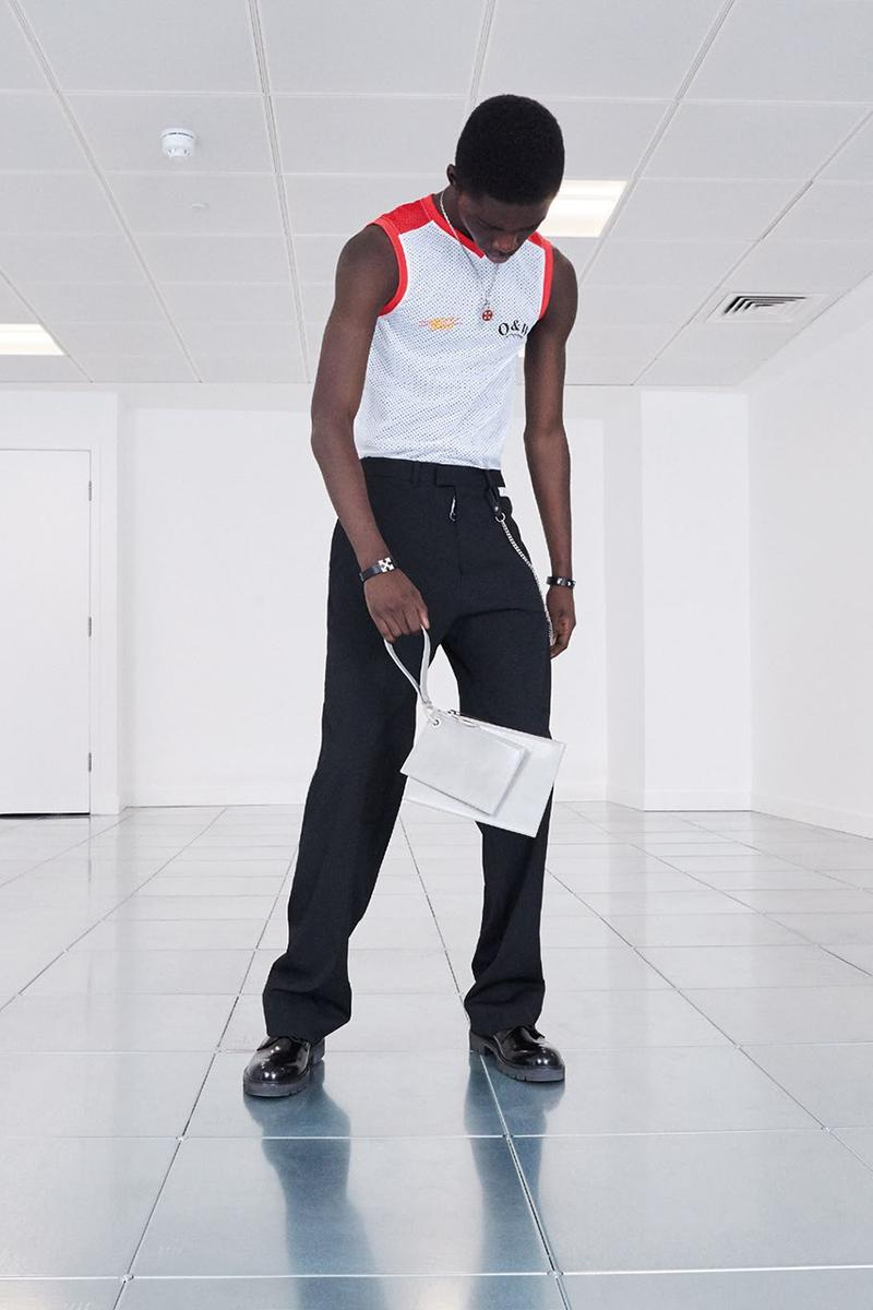 "Off-White™ Pre-Fall 2020 ""Pivot"" Collection Lookbook Menswear Virgil Abloh Ready to Wear Drop Release First Look High End Streetwear Sartorial Fashion Tailoring"