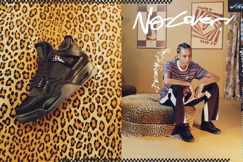 StockX Nike x Olivia Kim No Cover Capsule 90's Inspired Theme Collection Nordstrom Air Force 1 Low Air Mowabb Air Footscape Air Max 98 Air Jordan 4 Black Cat