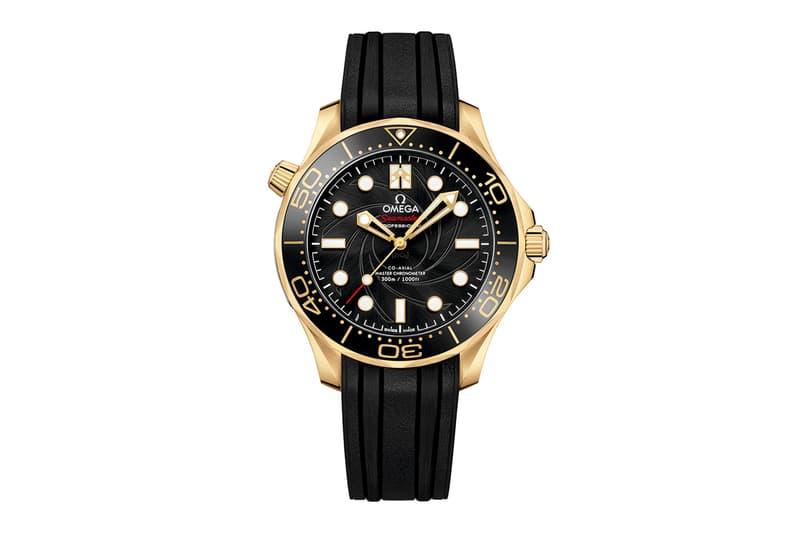OMEGA Seamaster Diver 300M James Bond Set Black 18K Yellow Gold On Her Majesty's Secret Service
