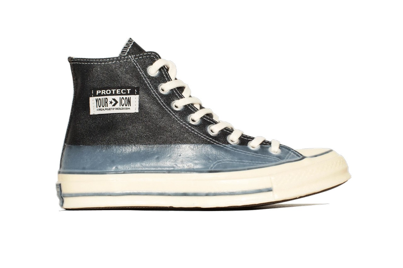 one block down converse chuck 70 protect your icon 10th anniversary black blue white parchment release date info photos price